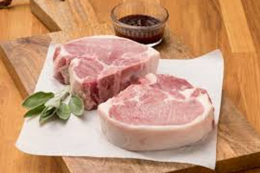 PORK CHOPS - BONE IN - 2PK