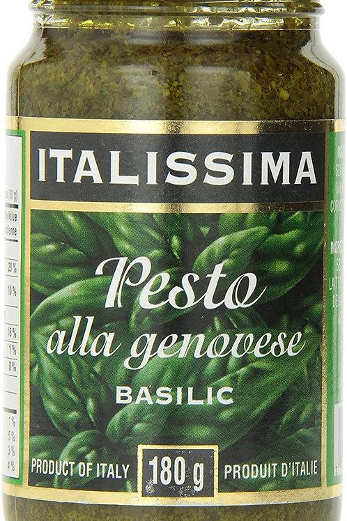 ITALISSIMA - PASTA SAUCE - PESTO - ALLA GENOVESE - 180ML