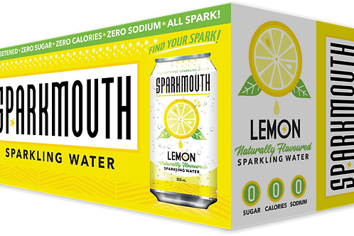 SPARKMOUTH - LEMON SPARKLING WATER - 8X355ML