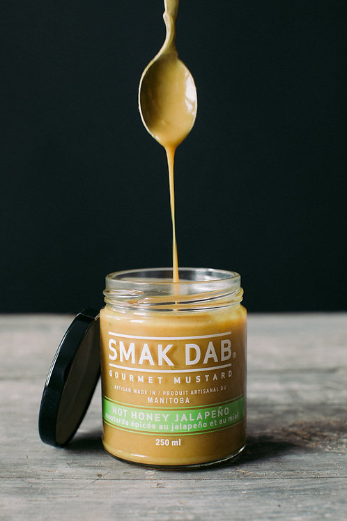 SMAK DAB MUSTARD - HOT HONEY JALAPENO