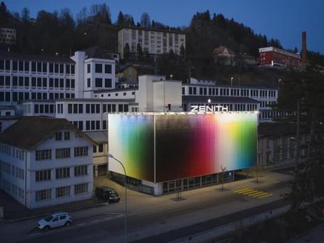 Коллаборация швейцарского бренда часов ZENITH и Фелипе Пантоне