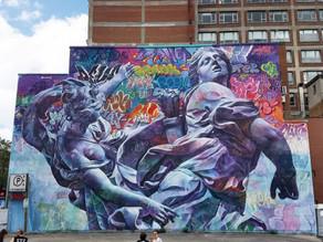 Муралы Mural Festival 2019, Монреаль. Канада