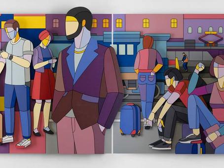 Выставка художника Дмитрия Аске. Москва