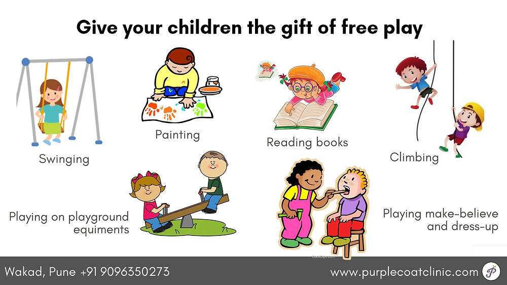 Give your children the gift of free play