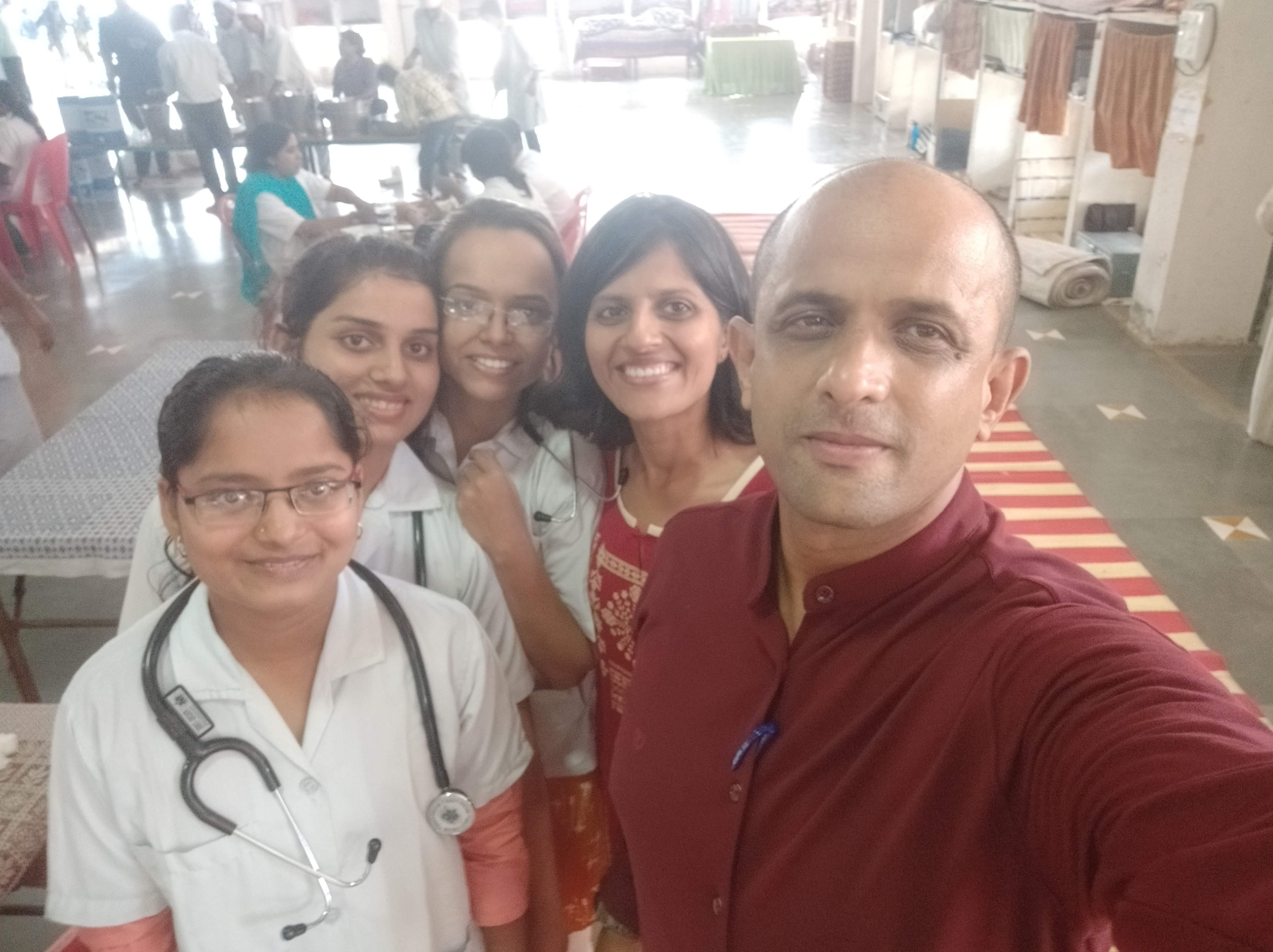 Dev Ashram homeopathic camp