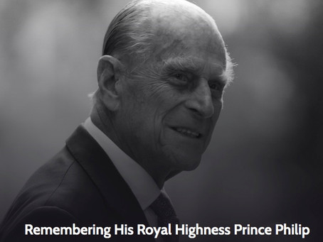 Book of Condolence for His Royal Highness Prince Philip