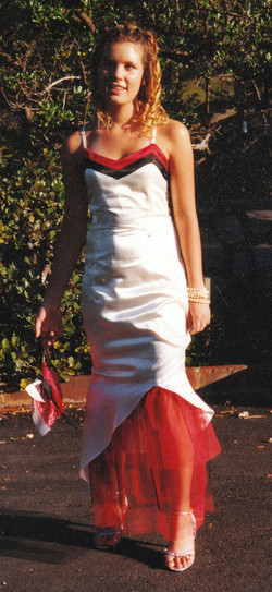 newcastle school formal custom dress