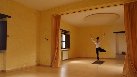 indoor yoga shala
