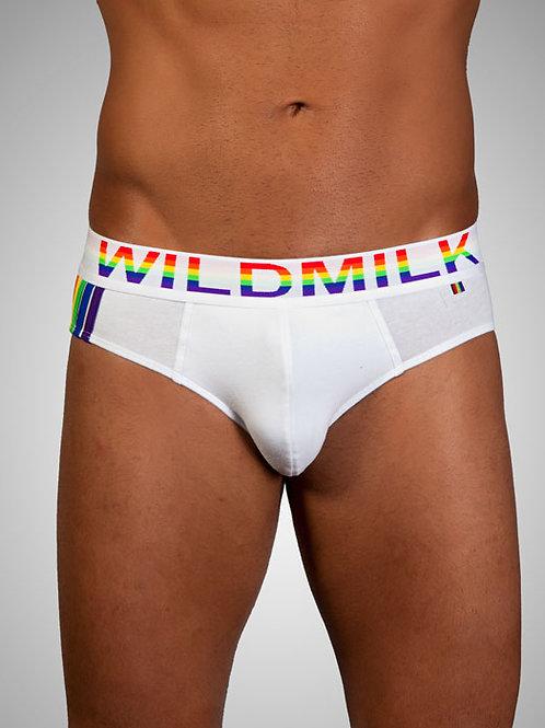 wildmilk - Rainbow Beyaz Slip