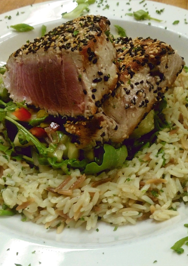 Pan Seared Tuna Special