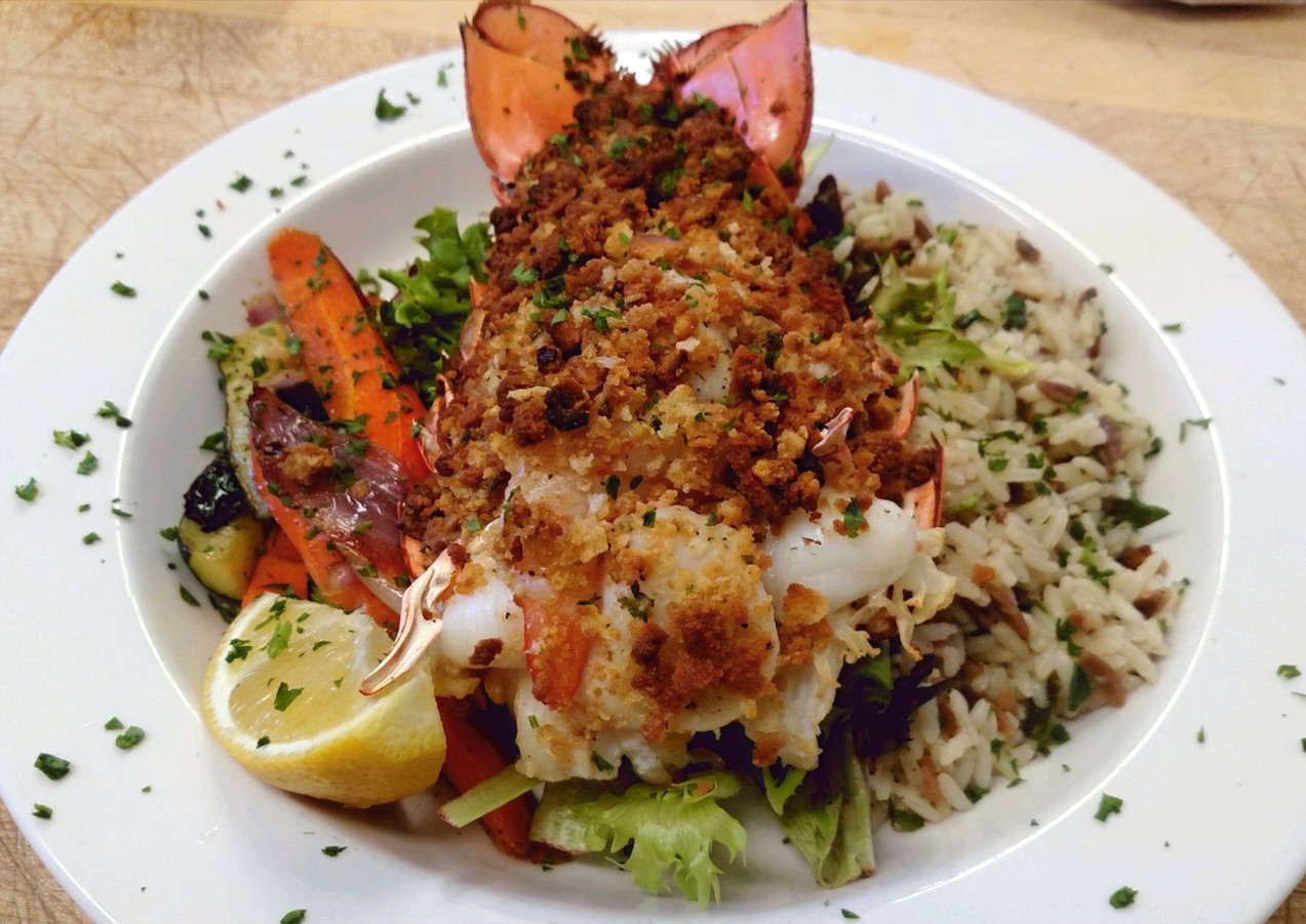 Baked Stuffed Lobster Special