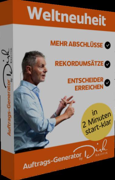 Neu Weltneuheit: Der Auftrags-Generator by Dirk Kreuter