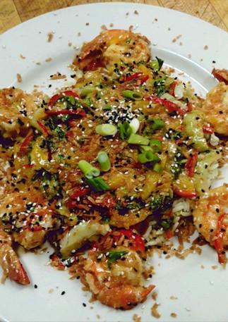 Asian Shrimp Special