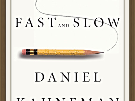 Recommendations: Thinking, Fast and Slow by Daniel Kahneman