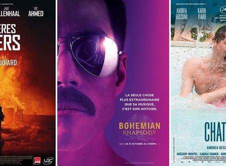 Le Palmarès du cinéma 2018