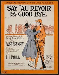 Au revoir, pas adieu...