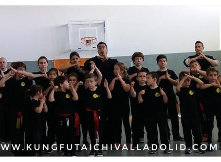 Exhibición Kung Fu: Fin de Curso