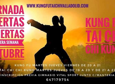 Puertas Abiertas Kung Fu Tai Chi Valladolid