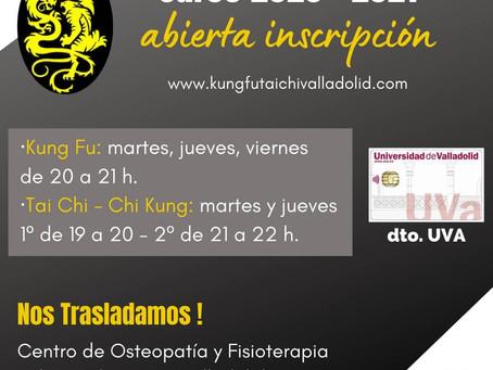 Kung Fu - Tai Chi Valladolid 2020-2021