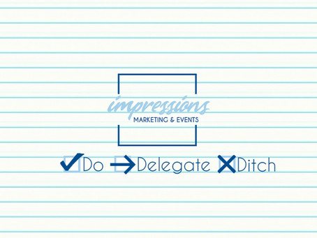 Accomplish More on Your Marketing To-Do List with the 3 Ds: Do, Delegate, Ditch