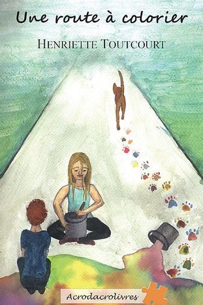 Une route à colorier