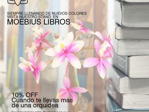 Visita Nuestro Stand en Moebius Libros