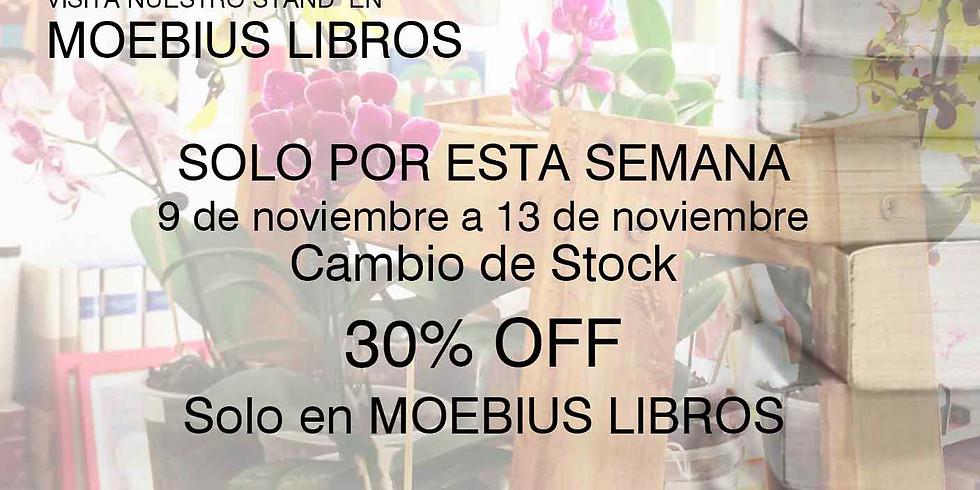 30% OFF SOLO EN MOEBIUS LIBROS