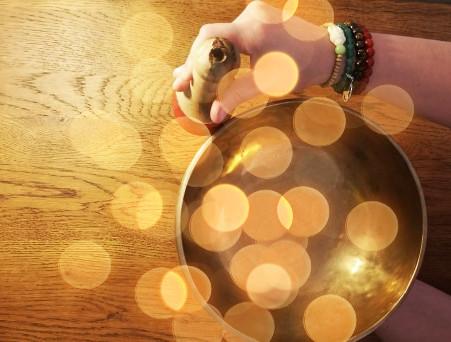 J'ai choisi les bols chantants tibétains