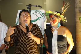 Joênia Wapichana e Nara Baré