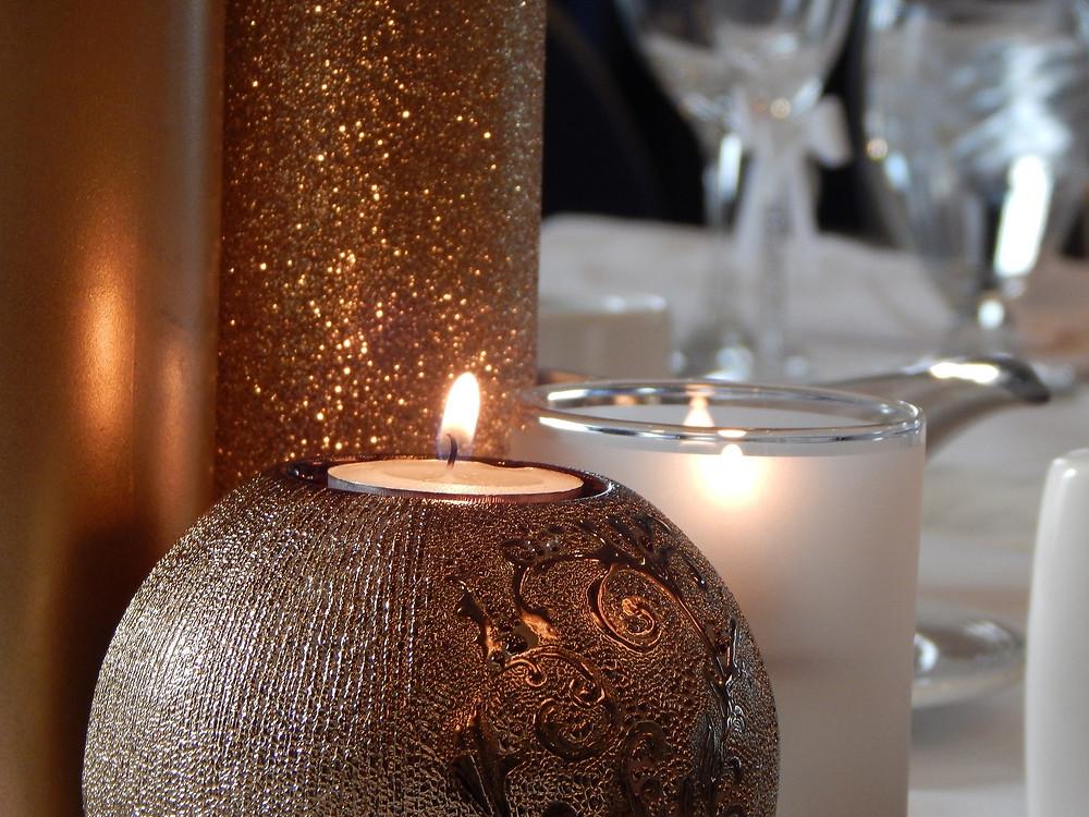 Candles for Fall -  Benjamin Moore fall Colors