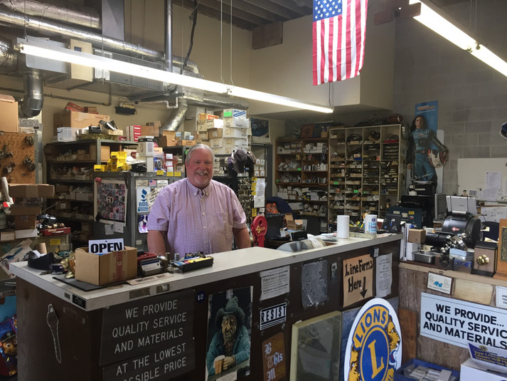 Welcome to Bill's Lock Shop in San Bruno.