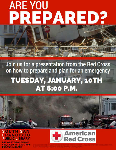 SSF: Are you ready for an emergency? South City Red Cross Emergency Preparedness Event