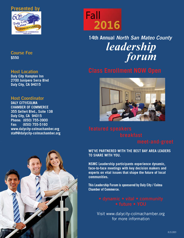 Daly City-Colma Chamber of Commerce Leadership Forum 2017