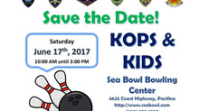 Kops & Kids is June 17th at Sea Bowl in Pacifica