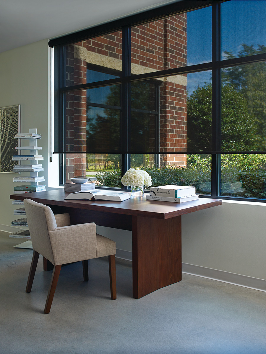 Hunter Douglas Window Fashions, Treatments for the home office from Piazza Designs San Carlos