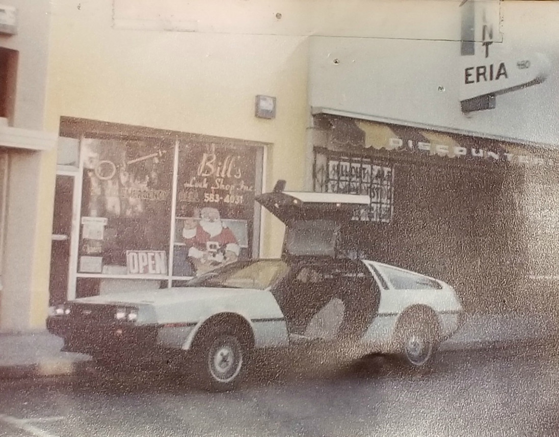 Back to the Future...way back when we were on San Mateo Avenue.