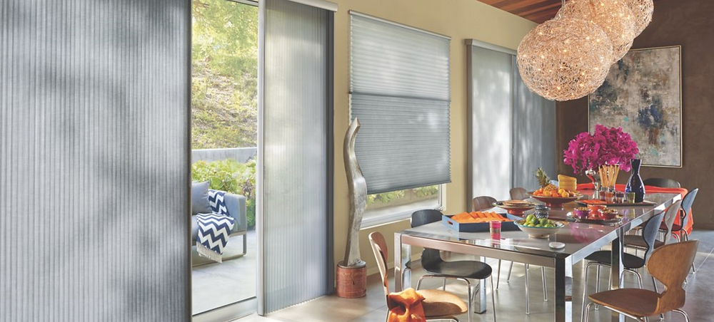 Hunter Douglas Energy Efficient Window Fashions Treatments from Piazza Designs in San Carlos