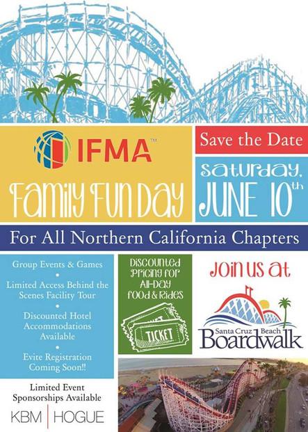 IFMA Family Fun Day at the Santa Cruz Beach Boardwalk