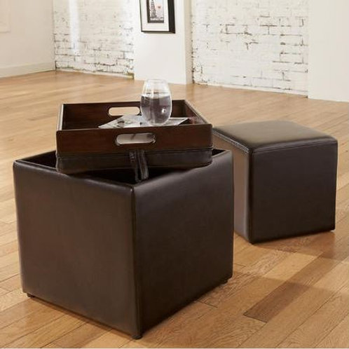 Flip Top Ottoman - STORE PICKUP ONLY
