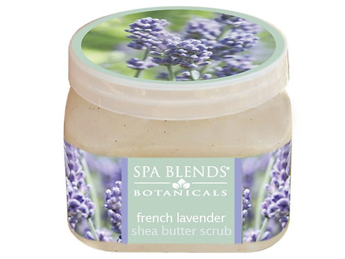 Spa Blends French Lavender Shea Butter Scrub