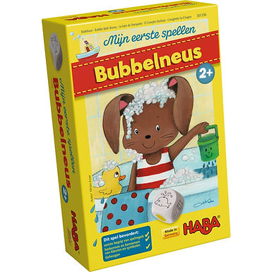 Bubbel neus HABA