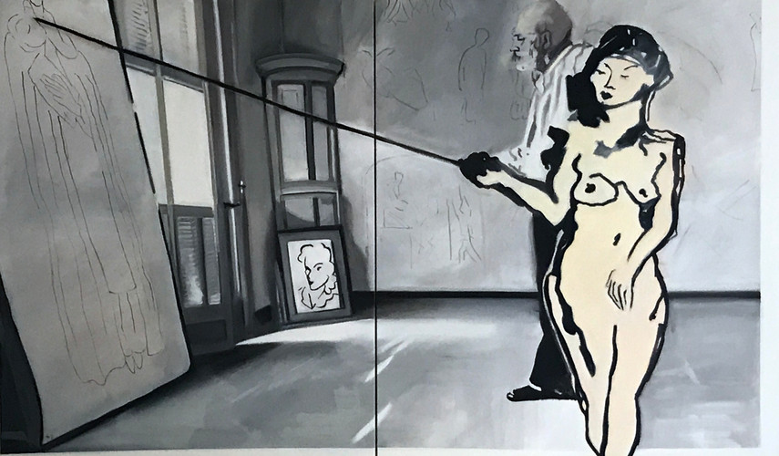 Stepping In- With Matisse