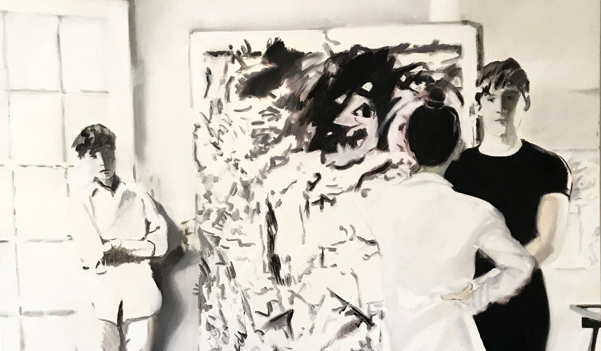 Stepping In- With DeKooning