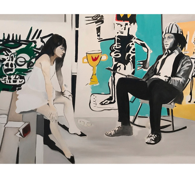 Stepping In- With Basquiat