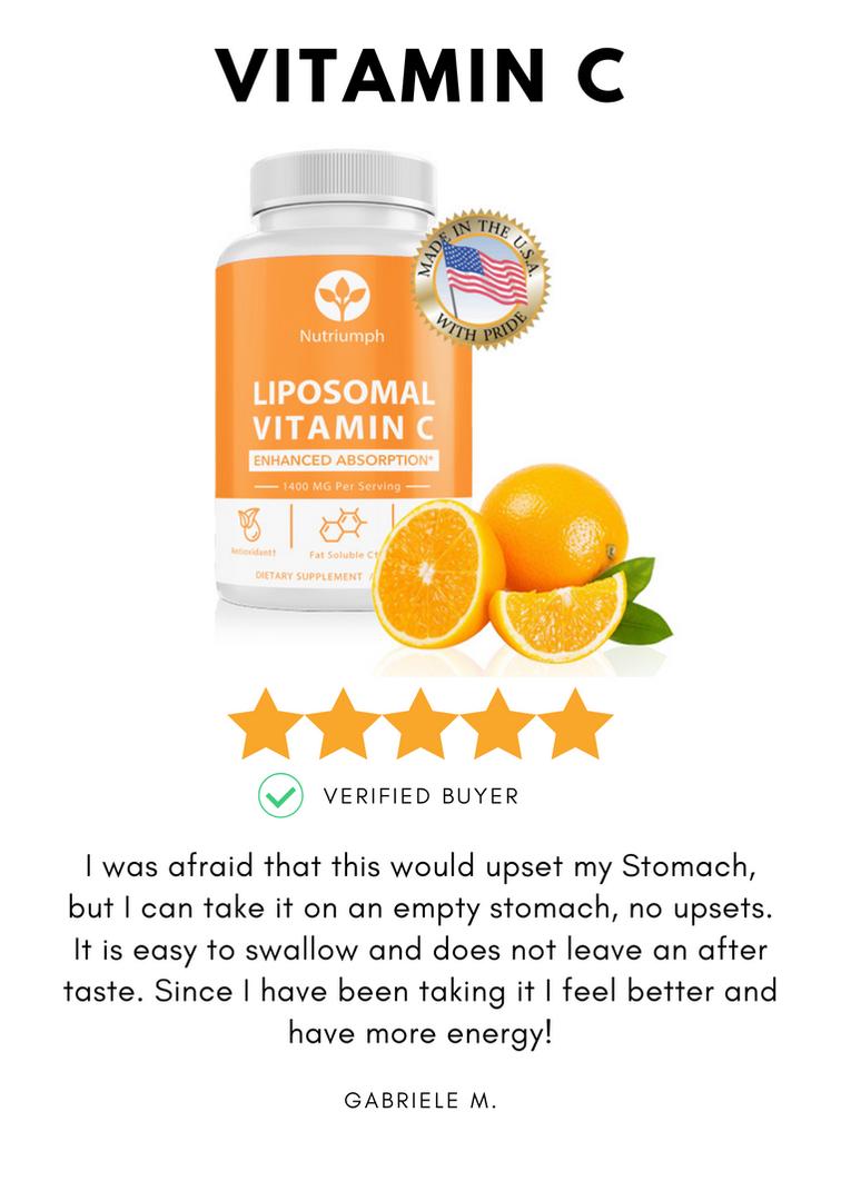 Liposomal vitamin c immune boost