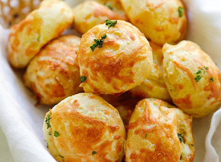 Low Carb Easy Cheese Puffs recipe