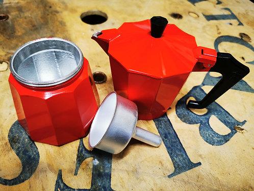 Pezzetti Stove-Top Espresso Coffee Maker Moka Pot 6 Cup