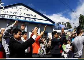 """UNIVISION: Jahzer, the """"secret guard"""" who protects the leaders of the Light of the World church"""