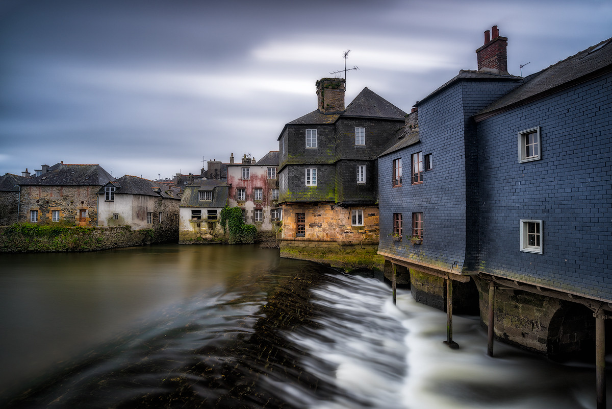 Bretagne Beautiful Town