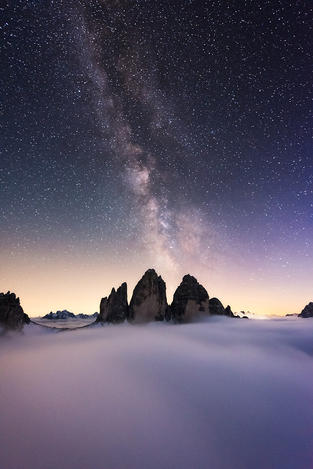 Dolomites Milkyway